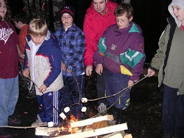 cooking marsh mellows